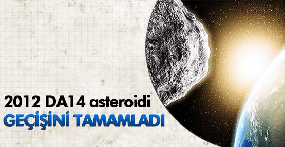 2012 DA14 asteroidi çok yakından geçti