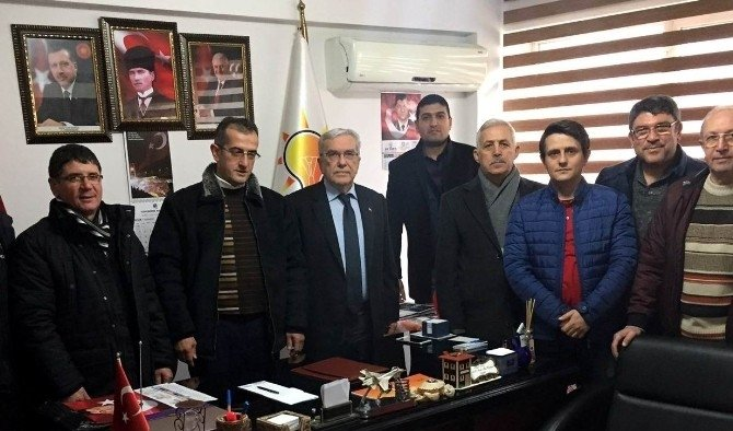Başkan Aşık'tan AK Partili Dinç'e 'Hayırlı olsun' ziyareti