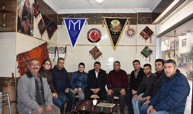 Başkan Çelik'ten Yörük Türkmen Derneği'ne ziyaret