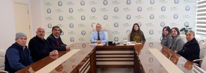 Başkan Kayda'ya, SEL-DER'den ziyaret