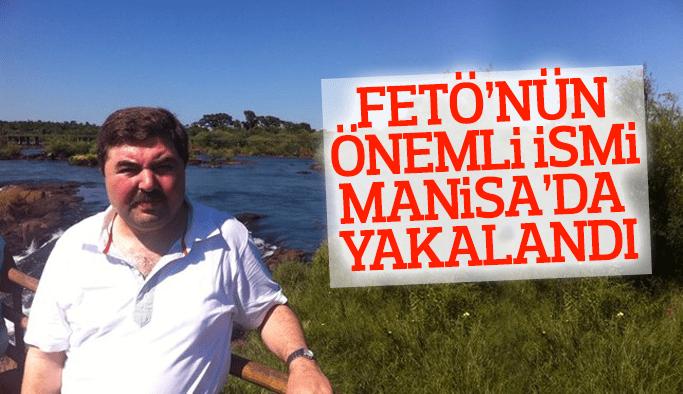 FETÖ'nün nemli ismi Manisa'da yakalandı