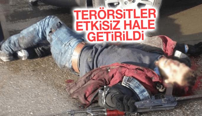 İzmir'de bombalı saldırıyı gerçekleştiren teröristler etkisiz hale getirildi