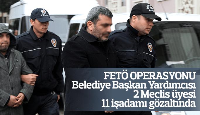 Manisa'da FETÖ operasyonu 11 işadamı gözaltına alındı