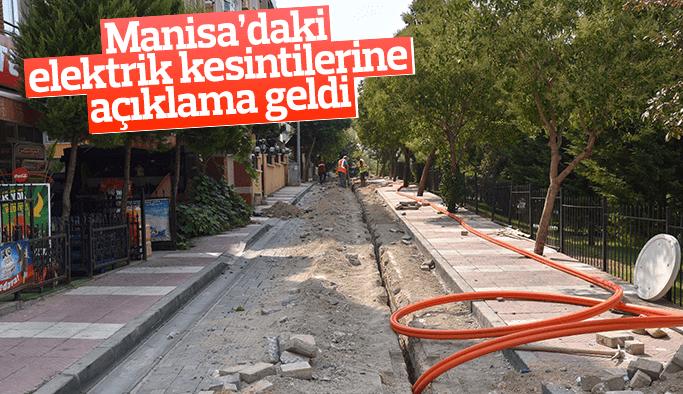 Manisa'daki elektrik kesintileri için açıklama