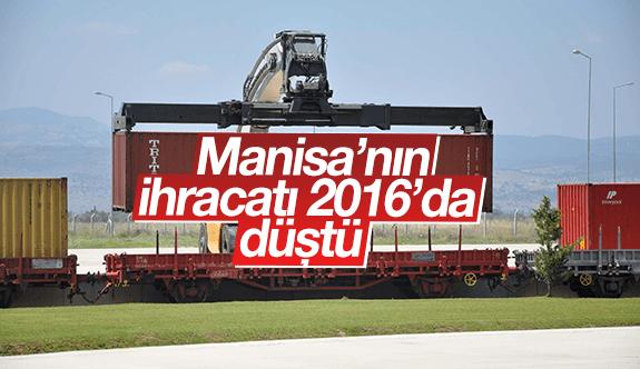 Manisa'nın ihracatı 2016'da düştü