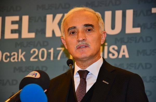 MÜSİAD Genel Başkanı Olpak: Referandum tamamlanınca iç piyasalar rahatlar