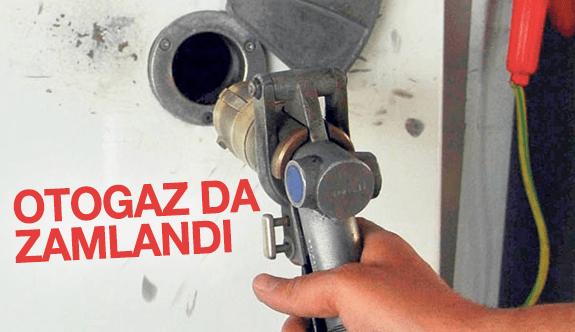 Otogaz da zamlandı