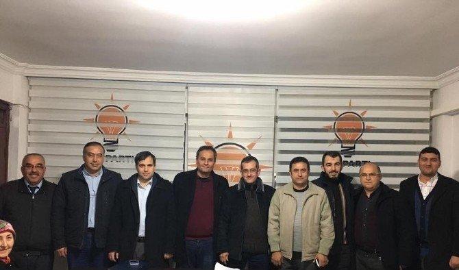 Salihlili şoförlerden AK Parti ve MHP'ye ziyaret