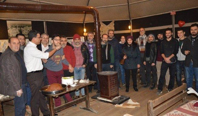 Yunusemre Kent Konseyi gazetecileri unutmadı