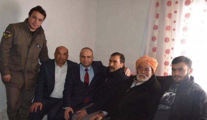 AK Parti'li Mersinli'den El Bab gazisine ziyaret