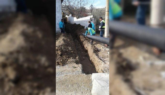 Hacıbaştanlar'ın altyapı çalışmaları tamamlandı