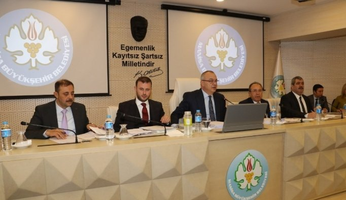 Manisa Büyükşehir Şubat Ayı Meclisi gerçekleştirdi