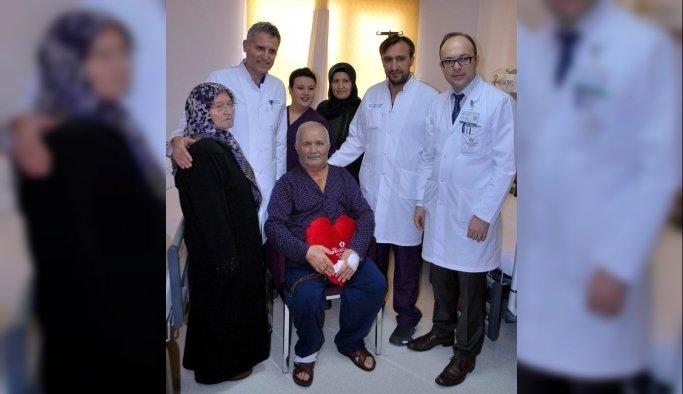 Salihli'de ilk kez bypass ameliyatı yapıldı