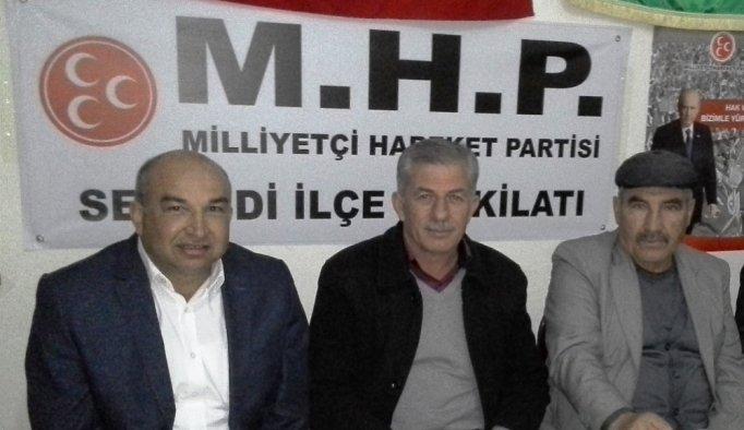 Selendi AK Parti'den MHP teşkilatına ziyaret