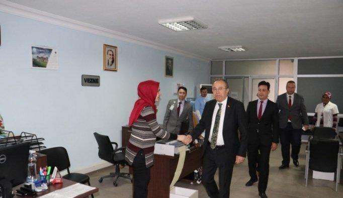 Ahmetli ve Kula'daki çalışmalara sıkı takip