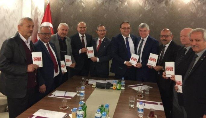 AK Parti'den MESOB Başkanı Geriter'e ziyaret