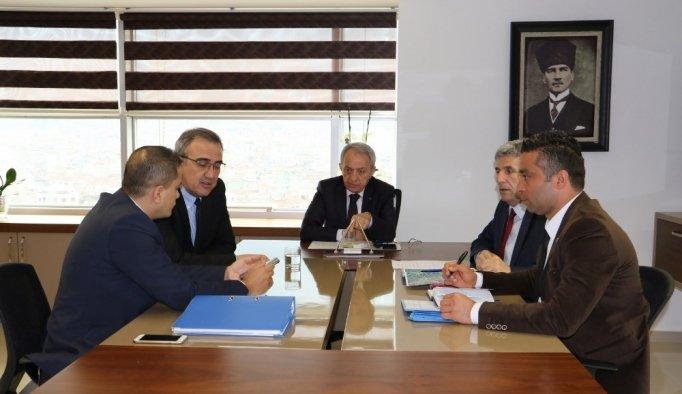 Alaşehir'in altyapı projeleri görüşüldü