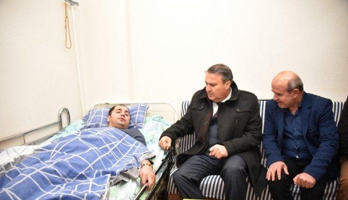 Engelli hastadan Başkan Çerçi'ye teşekkür