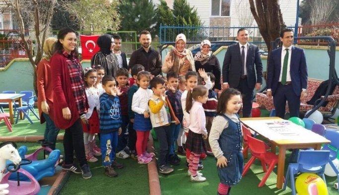 Harikalar Diyarı'nın minikleri Yeşilay Haftasını kutladı