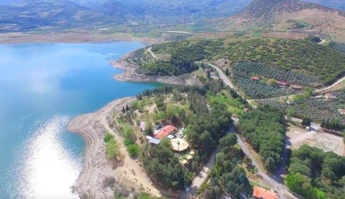 Afşar Barajı doğal güzelliğiyle dikkat çekiyor