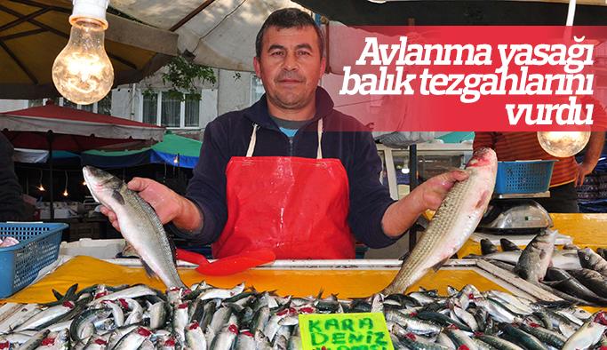 Avlanma yasağı balık tezgahlarını vurdu