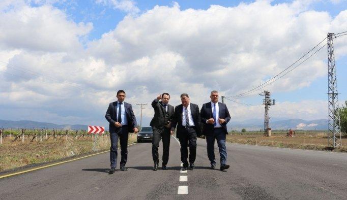 Beyoba-Sazoba yolu asfalta kavuştu