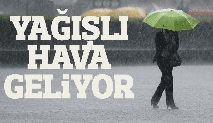 Manisa'da yağışlı hava bekleniyor