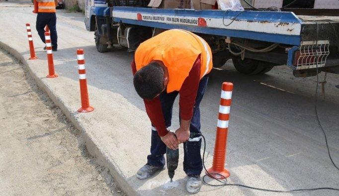 Turgutlu Belediyesinden kazaları önleyecek çözüm