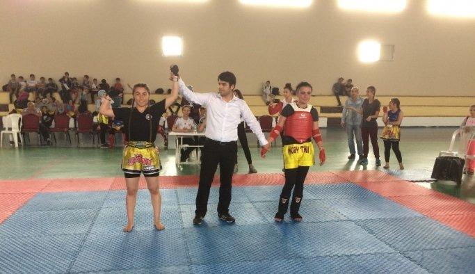 Ahmetli'de Muay Thai Şöleni