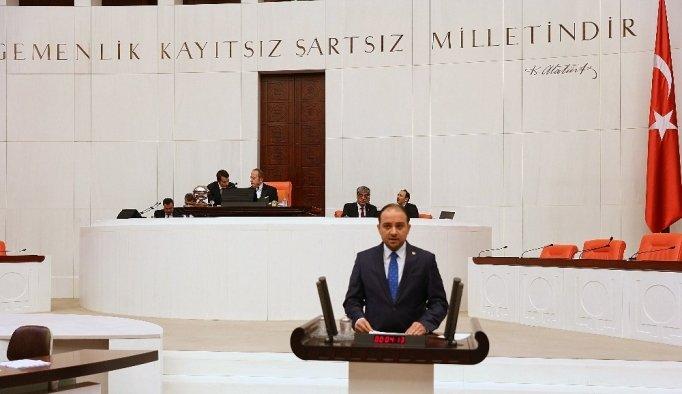 AK Parti'li Baybatur, Çerkes sürgününü meclise taşıdı