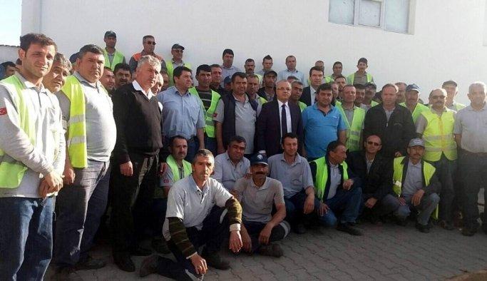 Başkan Kayda'dan temizlik işçilerine sürpriz ziyaret