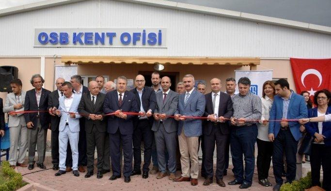 Gürle ve OSB Kent Ofisi törenle açıldı
