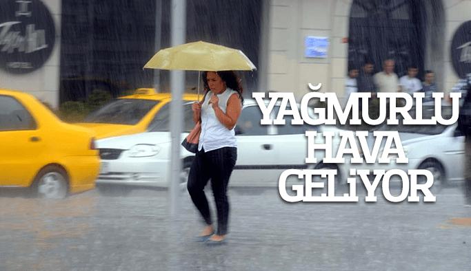 Manisa yağmurlu havanın etkisine giriyor