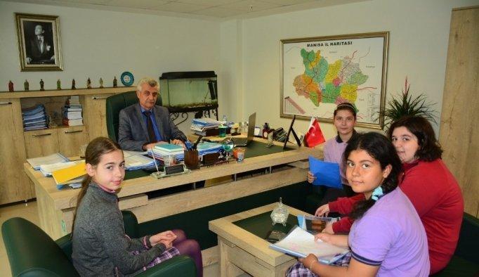 Öğrenciler yer altı sularıyla ilgili MASKİ'den bilgi aldı
