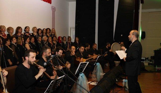 Turgutlu'da Türk Halk Müziği ziyafeti