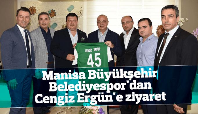 Büyükşehir Belediyespor'dan Cengiz Ergün'e ziyaret