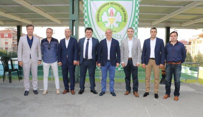 Büyükşehir Belediyespor'da görev dağılımı yapıldı