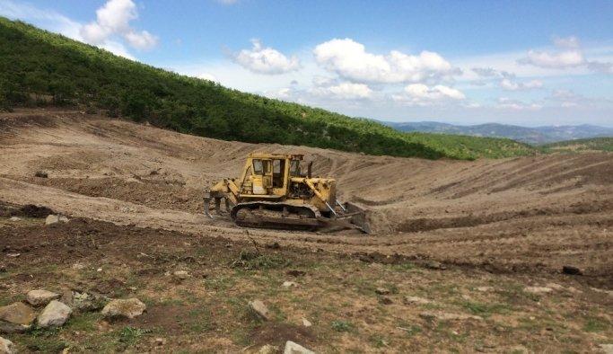 Kırkağaç'a bir HİS Göleti daha yapılıyor