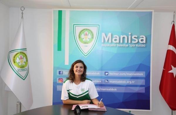Manisa Büyükşehir Belediyespor'da Gülem Altay ile sözleşme yeniledi
