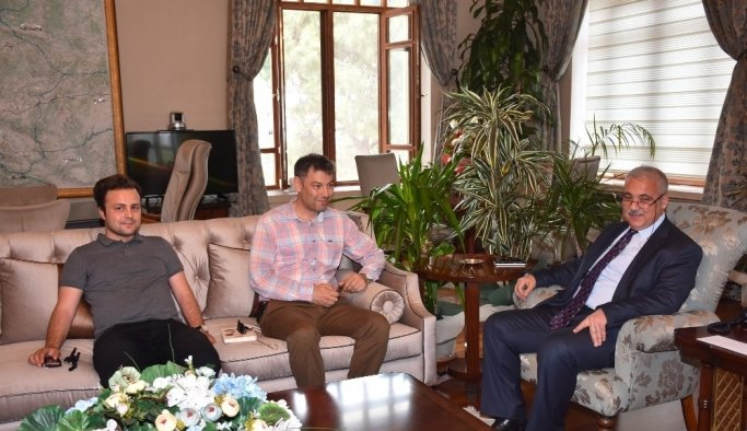 Vali Güvençer'e deprem konferansına davet