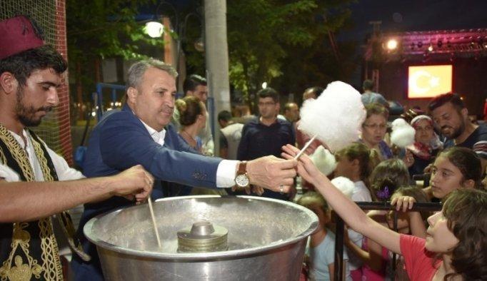 Yunusemre'de Ramazan etkinliklerine yoğun ilgi