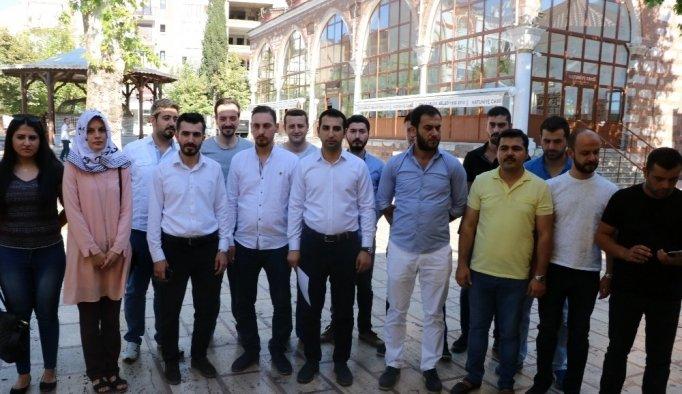 AK Gençlikten İsrail'e kınama