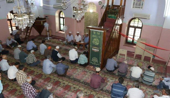 Akhisar'da şehitler için hatim-i şerif duası okundu