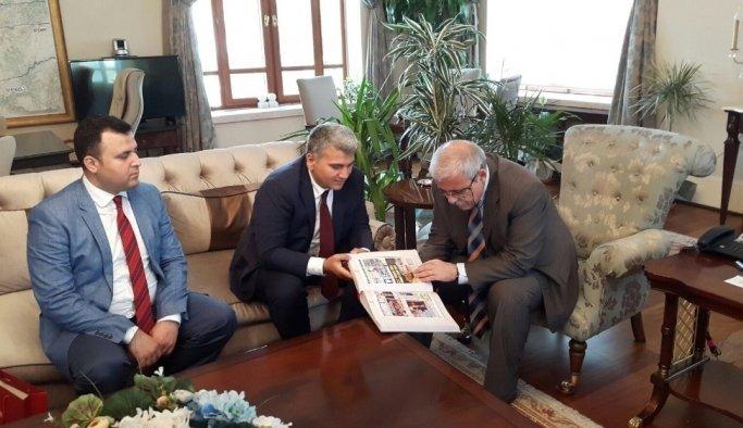 BİK Genel Müdür Yardımcısı Canbey'den Manisa'da inceleme