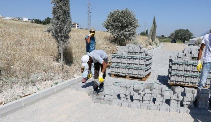 Büyükşehir ve MASKİ'nin kırsala yatırımı devam ediyor