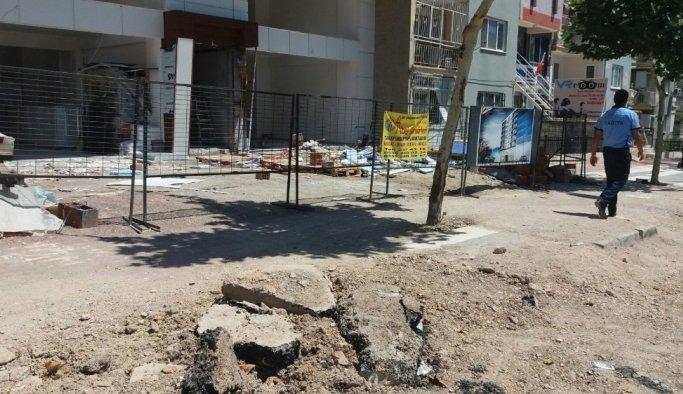 Büyükşehir zabıtası inşaatları denetledi