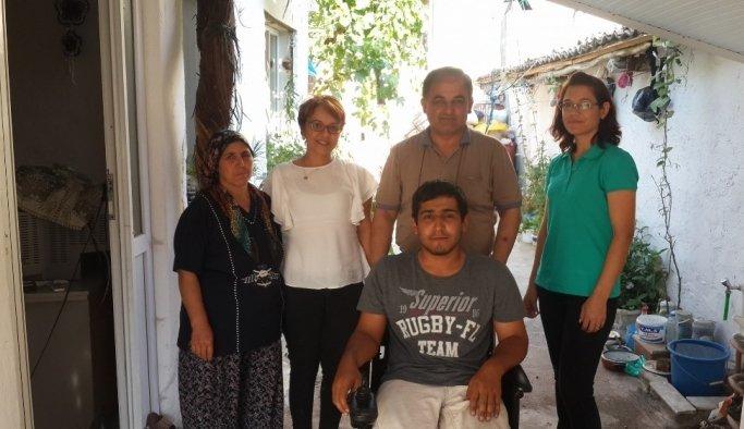 Manisa Büyükşehir engellilerin yüzünü güldürdü