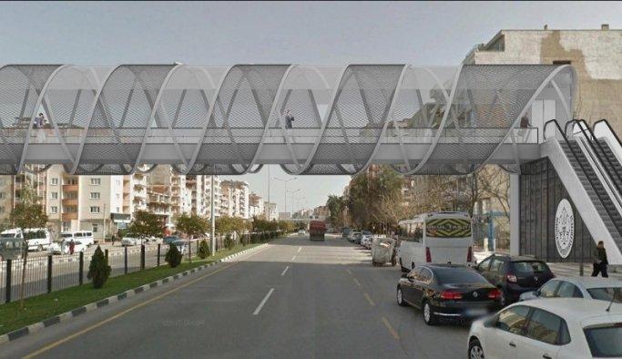 Mimar Sinan'da ulaşım yayalar için daha güvenli olacak