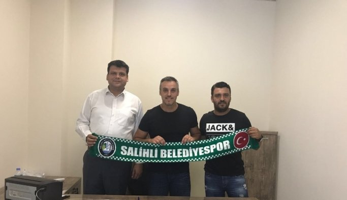 Salihli Belediyespor'a yeni kaleci