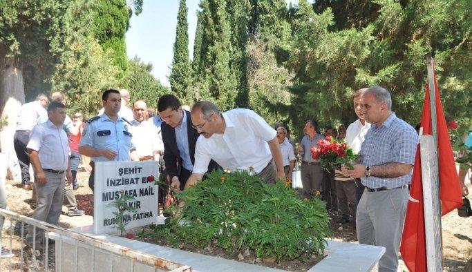 Sarıgöl, Alaşehir ve Gördes'te 15 Temmuz şehitleri anıldı